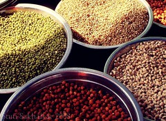 beans, some beans!! (Stuti ~) Tags: india metal weird beans market some crop thumbsup mumbai containers