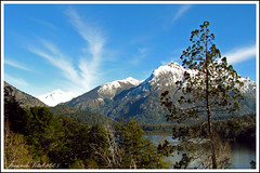 Pintame un sueo / Bariloche / Argentina (Facu551) Tags: sky patagonia mountain lake argentina montagne heaven paradise sur paraiso bariloche rionegro hotelllaollao cruzadas lagomoreno cerrocapilla theunforgettablepictures a3b
