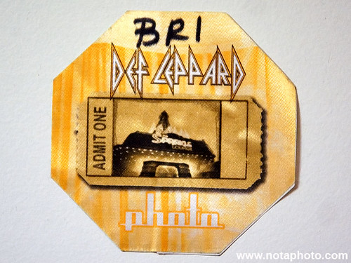 Def Leppard Photo Pass