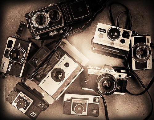 film camera collection