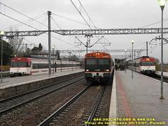Caos en Pinar de las Rozas (Powell 333) Tags: madrid tren trenes lluvia media caos japonesa pinar distancia cercanias renfe 091 unidad rozas 085 446 269 052 034 470 adif 470085 269091 446034 446052