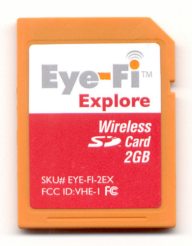 Eye-Fi Explore Wireless SD Card 2GB by Remko van Dokkum.