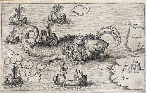 001-Servicio religioso de la Pascua sobre la ballena mitica de San Brendan