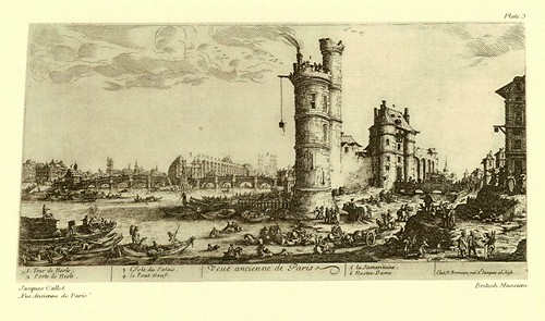 002- Vista antigua de Paris- Jacques Callot
