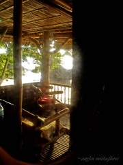 the balcony through the misty mirror (Angkulet) Tags: beach negros negrosoriental kookoosnest zamboangita