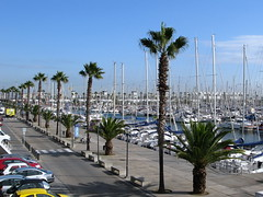 Puerto Olimpico (jacilluch) Tags: barcelona españa port puerto spain europa bcn santmarti catalunya cataluña barna puertodeportivo pueblonuevo puertoolimpico puertoolímpicodemarina
