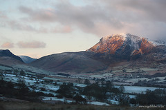 Cader Idris near Dolgellau in Wales at Dawn