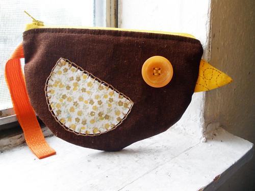 birdie coin purse