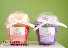 Pink and Purple Cupcake Soaps