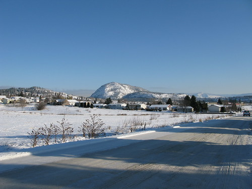 View of Mount Boucherie....