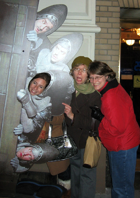 Group Outside Spamalot (Click to enlarge)