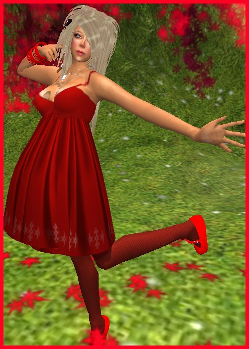 Xmas Red Dress set