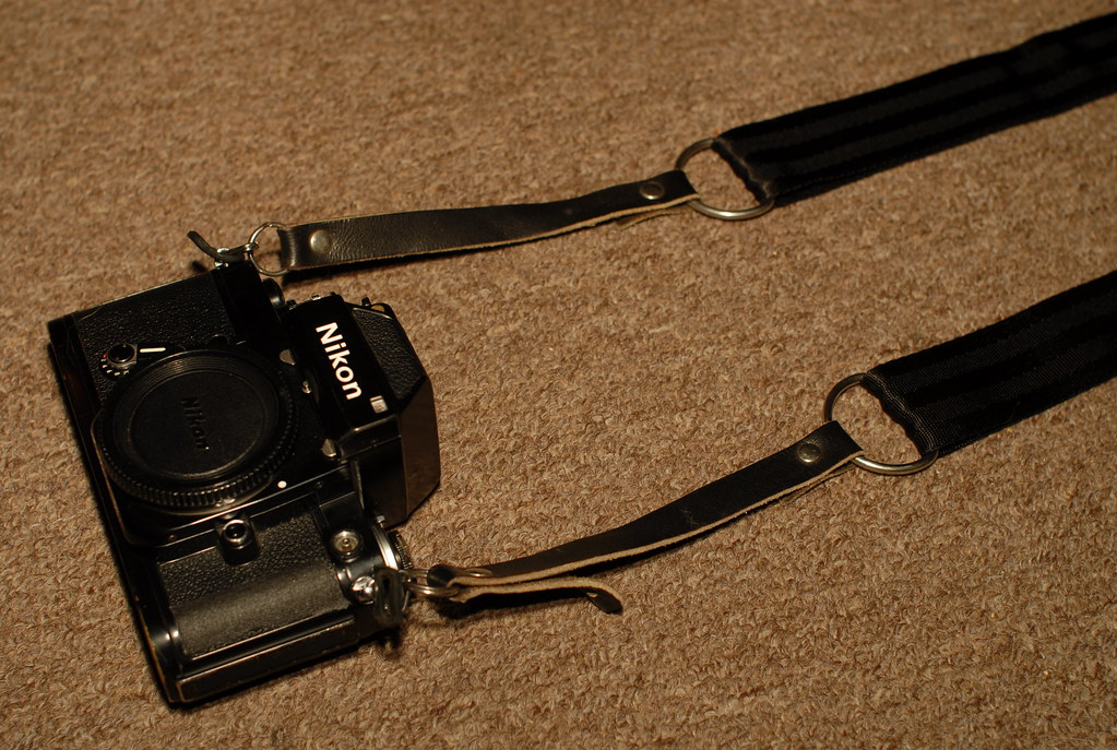 bandolier style camera strap on the cheap