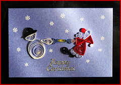 Its Christmas. (Picture post.) Tags: santa christmas snowflakes snowman cracker soe papercraft quilling greetingscard blueribbonwinner otw beautifulexpression photographyrocks mywinners abigfave platinumphoto diamondclassphotographer theunforgettablepictures goldstaraward rubyphotographer jediphotographer dragondaggerphoto jequill