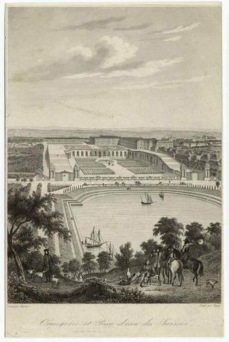 004-Jardin de los naranjos y estanque de los suizos 1838