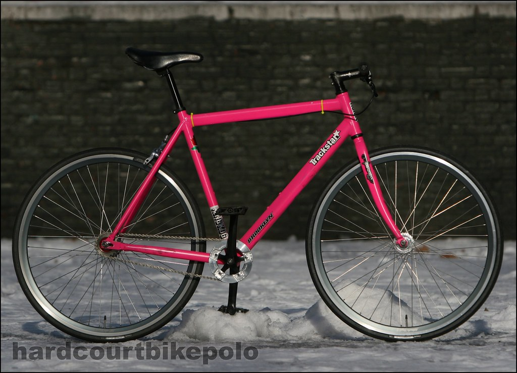 pink IRO hardcourt polo bike 1