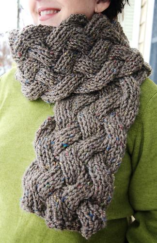 Free Crochet Scarf Patterns For Bulky Yarn : CHUNKY SCARF PATTERNS - FREE PATTERNS