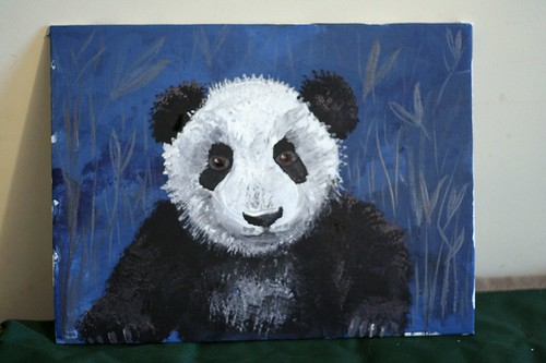 The second panda from the Panda project