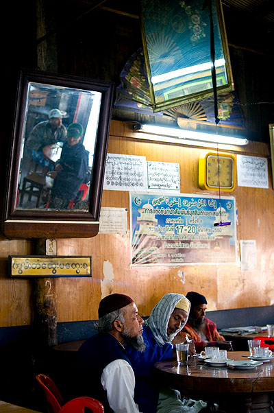 At a Muslim restaurant in Mae Sot