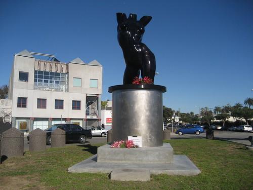 graham statue in venice