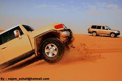 T O Y O T A (!  ) Tags: al sand dunes dune toyota fj landcruiser bashing cruiser doha qatar sohail suhail  najim sealine     qatari najem wakrah  quatar  duning         quatari