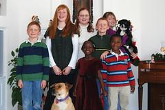 Our Seven Grandchildren (thegreatlandoni) Tags: birthday christmas family nikon colorado jesus denver grandchildren 2008 d80 landoni thegreatlandoni jimlandon