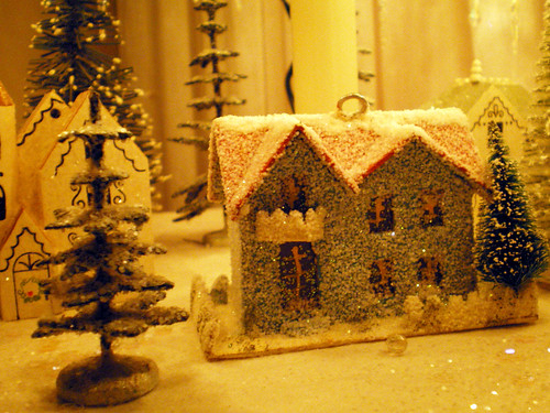 Miniature House & Trees