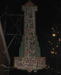 Olympia Cafe Sign