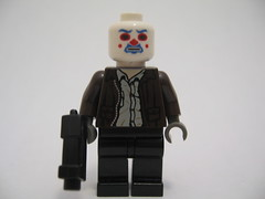: dark lego bank heath joker knight robbery custom minifigure ledger