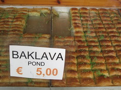 Baklava on sale