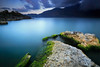Memories of Blue (tropicaLiving - Jessy Eykendorp) Tags: longexposure blue light sunset sky bali lake nature water clouds indonesia landscape rocks crater batur kintamani efs1022mm lakescape outdoorphotography the4elements canoneos50d memoriesofblue bwcpl tropicaliving hoyandx400 2ndflickranniversary hitechfilters rawproccessedwithdigitalphotopro tiffproccessedwithadobephotoshopcs3
