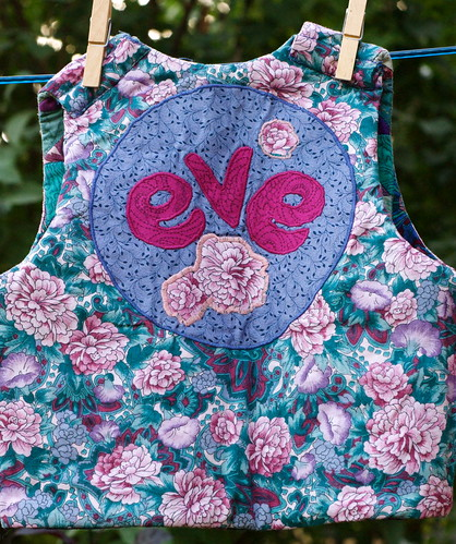 Inside of Eve's vest