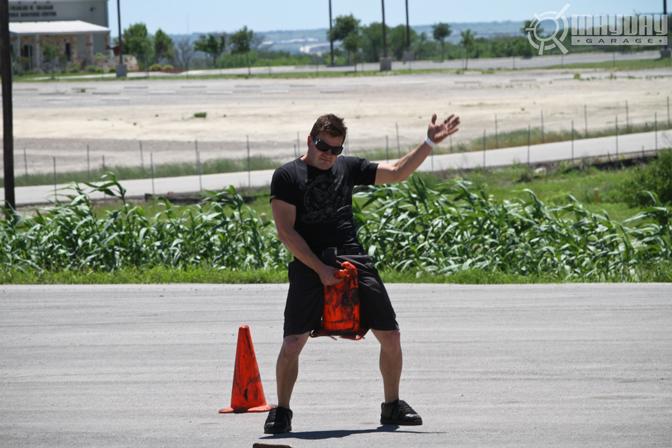 Josh Steele help with cones