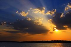 Amazing sunset (-clicking-) Tags: lighting sunset sun sunlight lake reflection beautiful sunshine landscape amazing rays sunbeams raysofsunshine tran thesuperbmasterpiece thechallengefactory blinkagain bestofblinkwinner bestofblinkwinners blinksuperstars