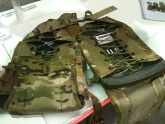 SOFIC: BAE Systems unique plate carrier platform. This allows different size plates to be used.