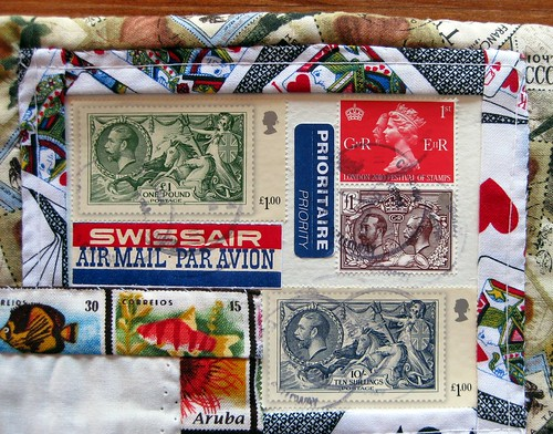 Vintage stamps from England
