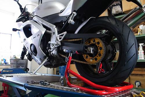 トライアンフ デイトナ by Motorcycle Workshop J.BOY