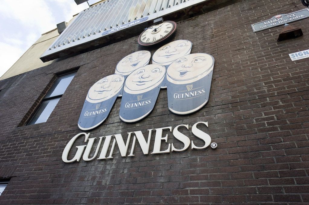 Liddy Street In Limerick - Time For Guinness