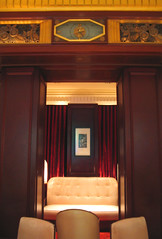 NYC 2011 072 (catchesthelight) Tags: nyc hotel chairs centralpark manhattan interior historic lobby angelinajolie celebrities artdeco renovation seating deco judelaw 59thst photoshop40 jumeirahessexhouse nationaltrusthistorichotelsofamerica essexhouseneonsign