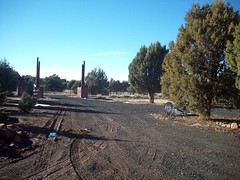 Driveway (SunshineRanchRentals) Tags: show vacation arizona white mountains low rental az