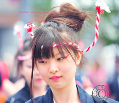 Yosakoi Dance Festival.  (Hirosaki Japan).  Glenn Waters.  . 1,300 visits to this photo.  Thank you. (Glenn Waters in Japan.) Tags: woman beautiful festival japan lady japanese dance nikon traditional young aomori  hirosaki matsuri japon yosakoi      d700 nikond700  glennwaters