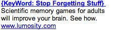 Memory Games - Ad #2