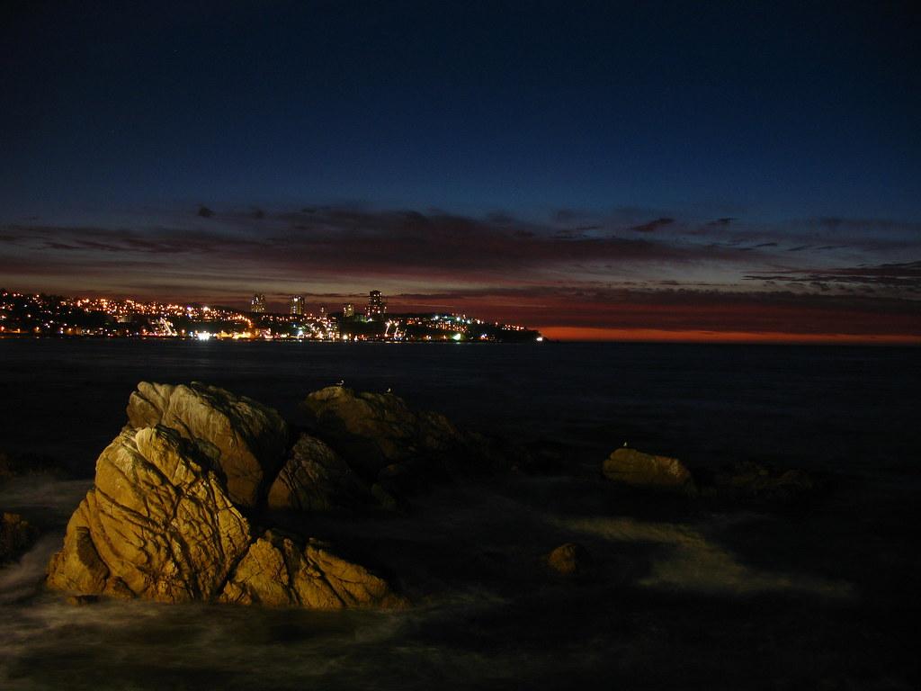 Viña del Mar from Concón