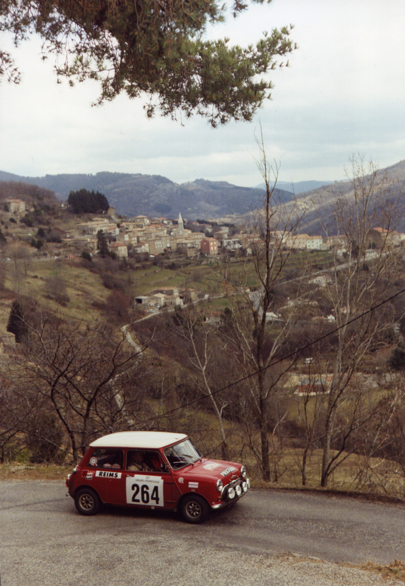 Mini over the Ardeche