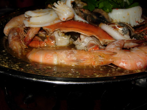 steamed seafoods