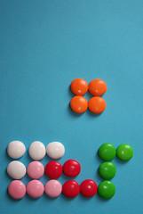Tetris con dulces