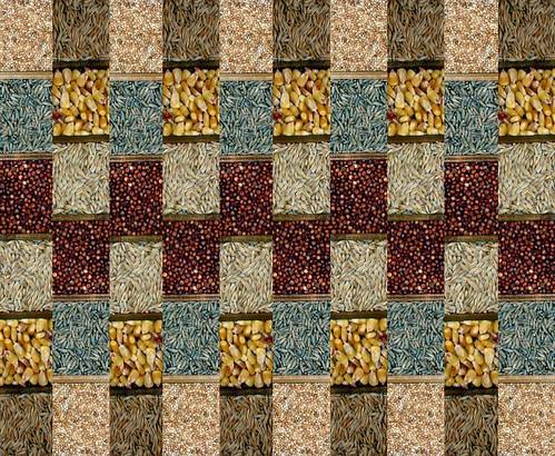 Mosaico de cereais