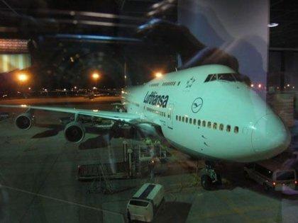 Unsere Boeing 747 nach Singapur