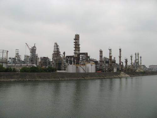 Yokkaishi industrial lands