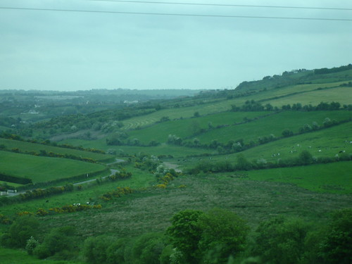 Yes, Ireland really is that green!
